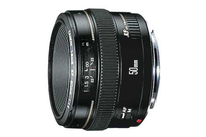 Canon 50mm f/1.4 USM Lens (refurbished) for $219.99