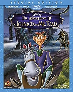 Disney's The Adventures Of Ichabod And Mr. Toad [Blu-ray] + DVD + Digital - $10.99