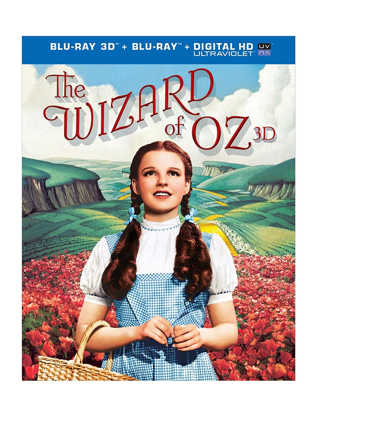 The Wizard of Oz 75th Anniversary Edition 3D + Blu-ray + Digital + Ultraviolet - $13.50 on Amazon