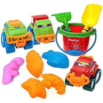 Beach Toys Set of 11 in Net Bag - $4.90 AC