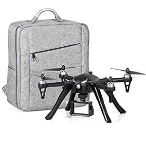 Mjx Bugs 3 Brushless Motors Quadcopter RC Drone with Waterproof Carrying Backpack $119.99 AC @Amazon