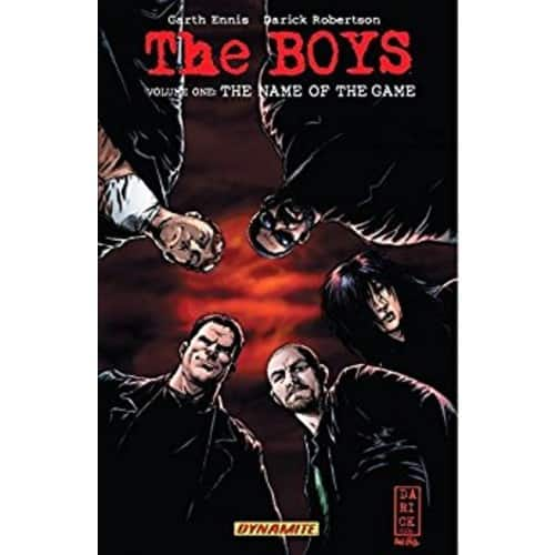 The Boys Vol. 1: The Name of the Game Kindle & comiXology Read for Free