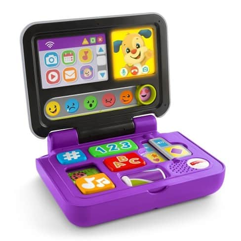 Fisher-Price Laugh and Learn Click and Learn Laptop for only $6.99 @target