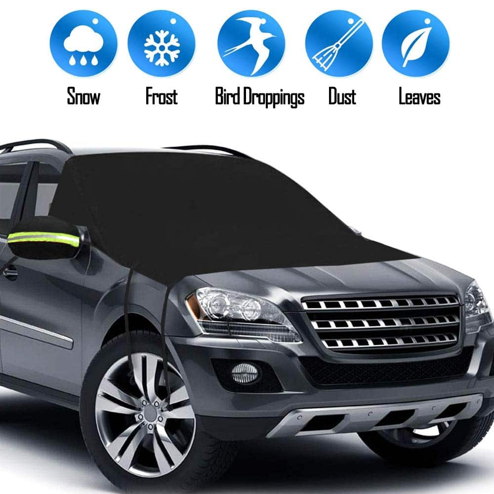 Magnetic Windshield Cover for Snow And Ice Protector $6 + FS w/ Prime
