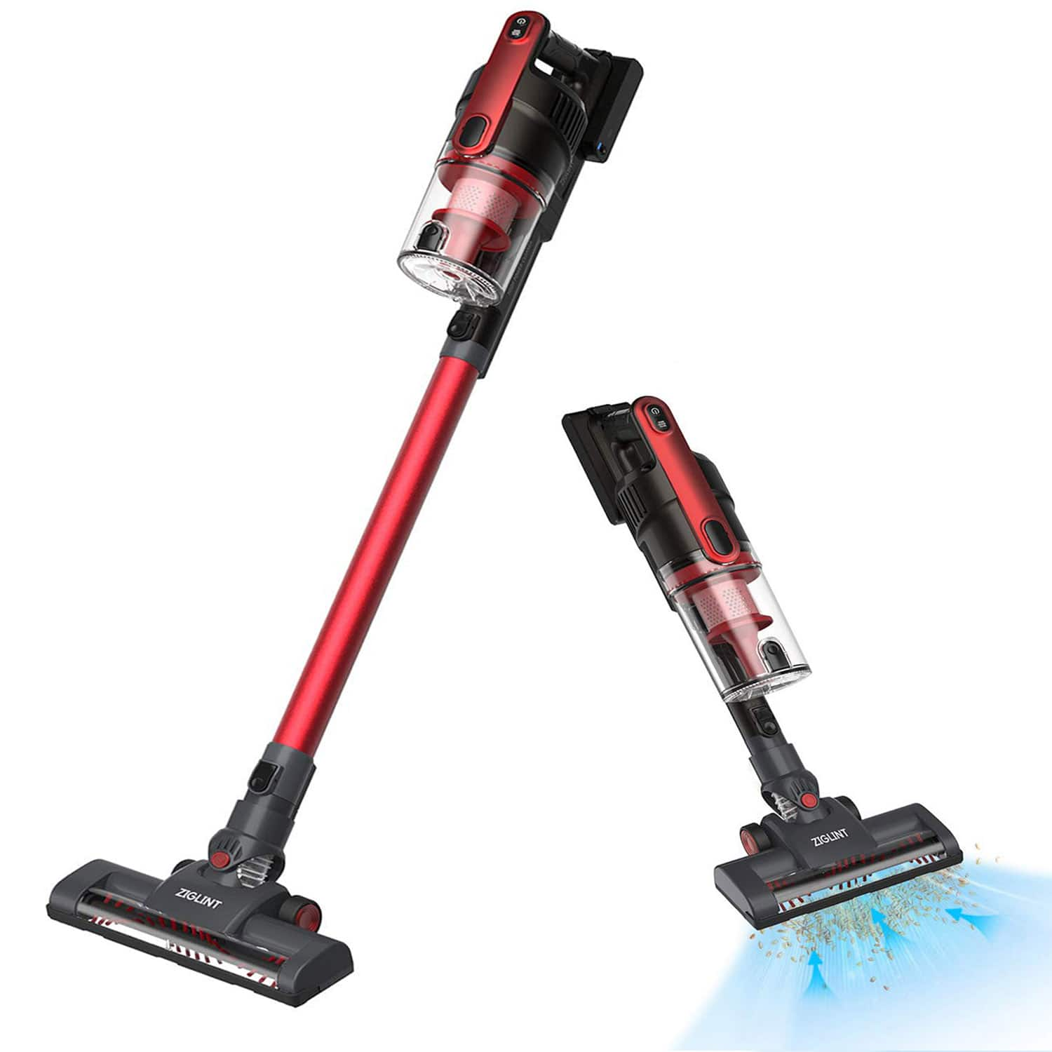 2-in-1 Lightweight Cordless Stick Vacuum Cleaner with 2000mAh Rechargeable Battery $55.99 + FS