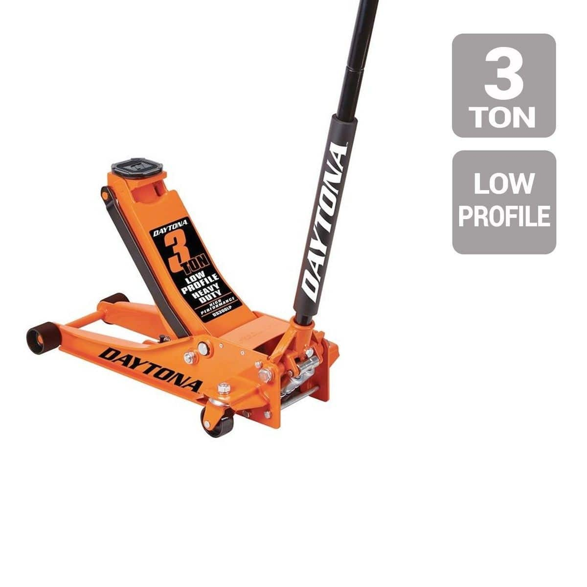 3 Ton Low Profile Daytona Floor Jack $119.99