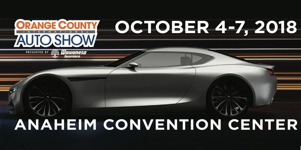 Free Motortrend Orange County Auto Show tickets 2018