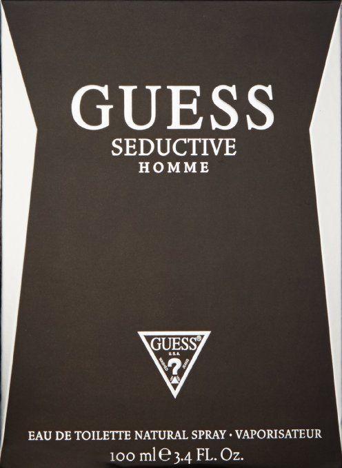 3.4oz Guess Seductive Men EDT Natural Spray for $13.94 + FS @ eBay