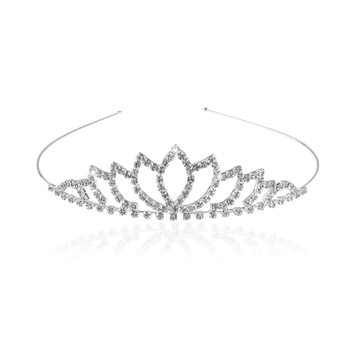 Wedding Tiara w/ Rhinestone Decor by Pixnor for $0.99 AC + FSSS