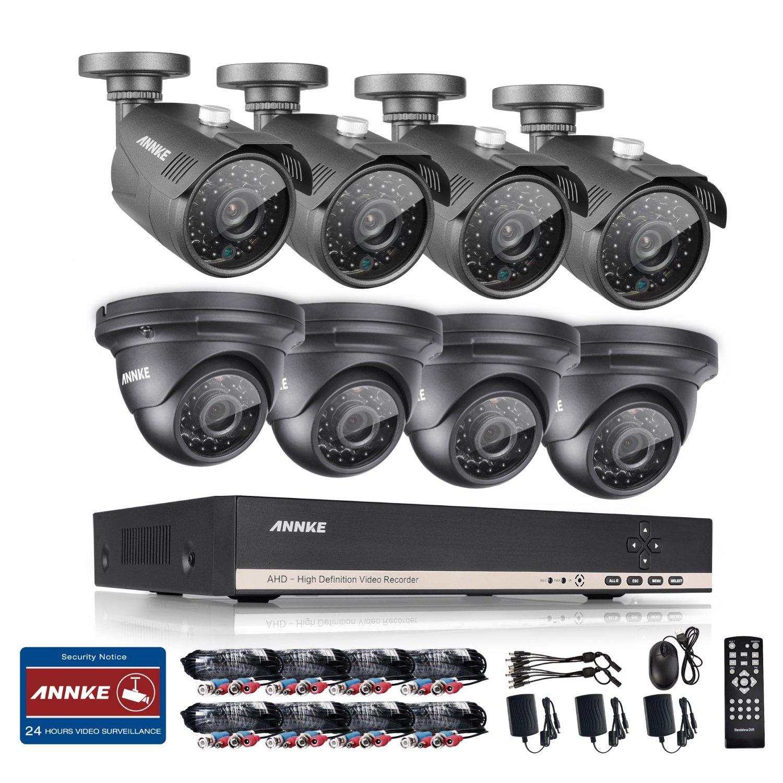 Annke 8CH 1080N Security DVR w/ 8xHD 1.3MP(1280*960) CCTV Cameras for $189.99 AC + FSSS