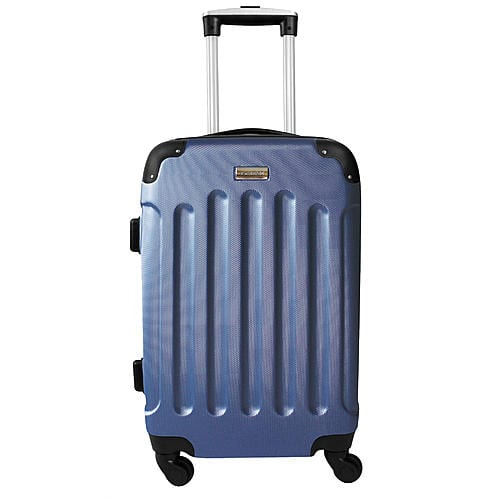 """Forecast 20"""" Hardside Spinner Suitcase in Navy $30.13 and $25.00 in SYWR Points"""