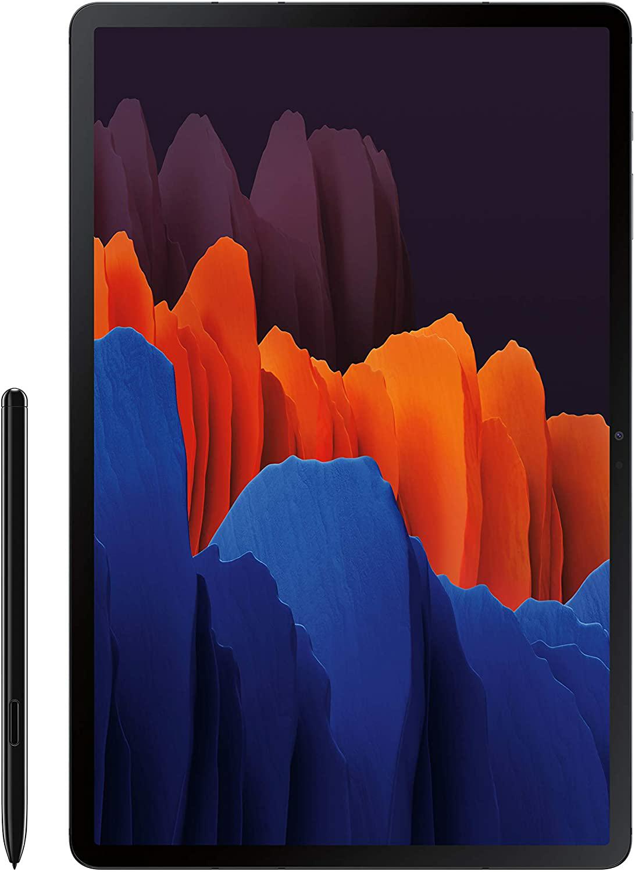 Amazon.com: Samsung Galaxy Tab S7+ Wi-Fi, Mystic Black - 256 GB: Computers & Accessories