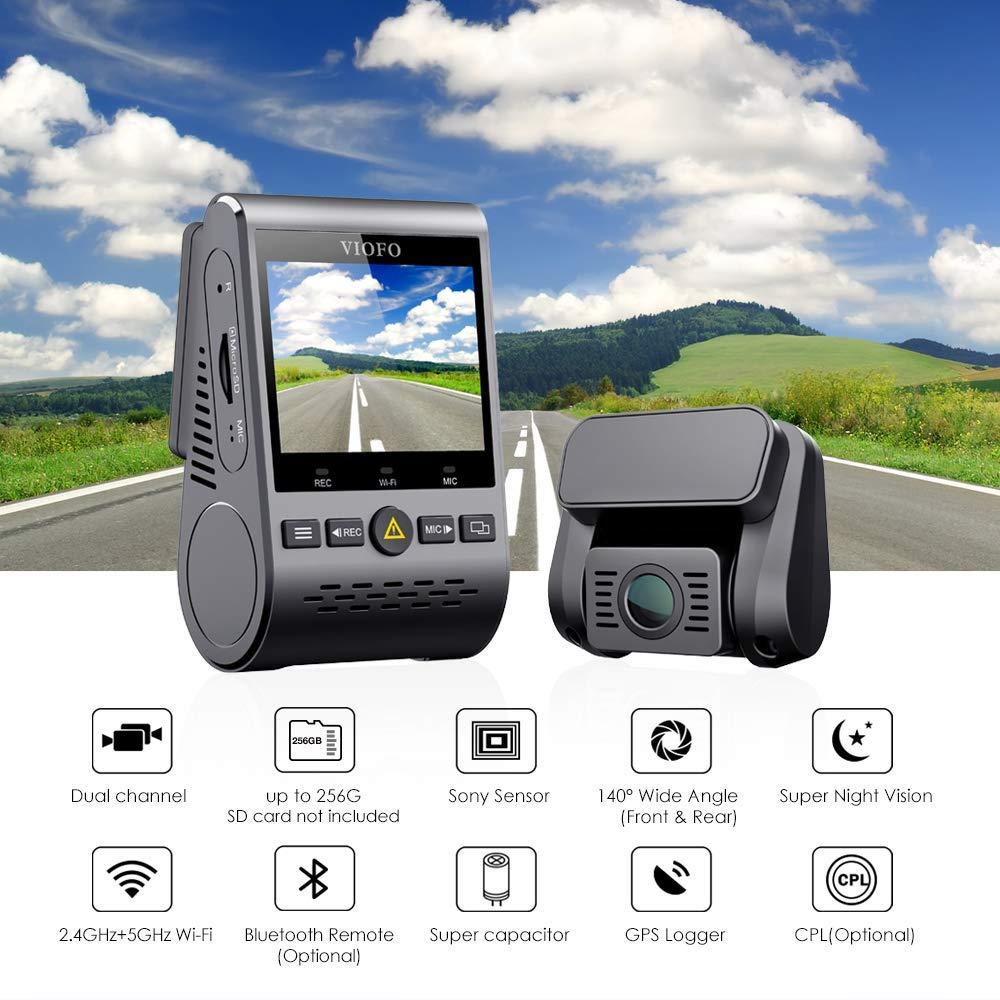 Viofo A129 Duo 1080p Dashcam - Clip $34.00 coupon on Amazon Prime: $135.90 + FS (Prime)