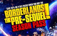 Borderlands: The Pre-Sequel Season Pass for the PC [steam key] $7.49
