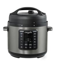 6 qt crockpot stainless pressure cooker $40