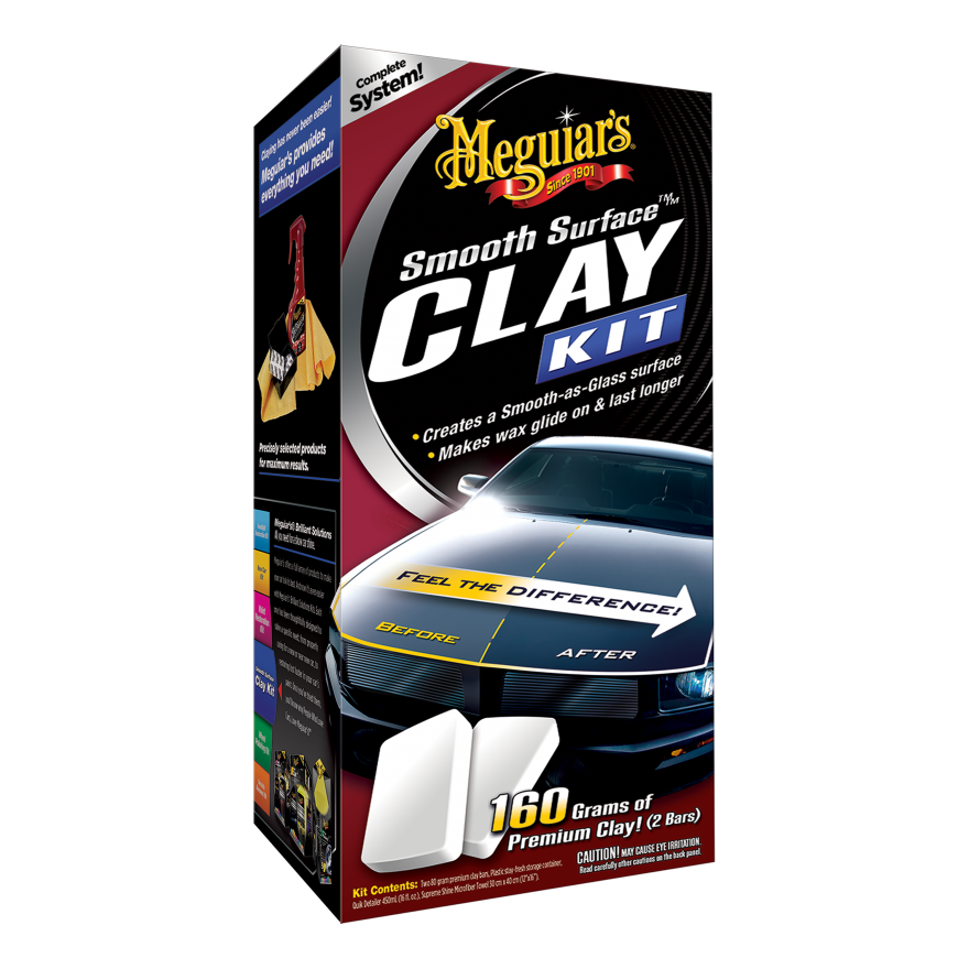 Meguiar's Smooth Surface Clay Kit 16-oz. IN STORE PRICE YMMV $11.39