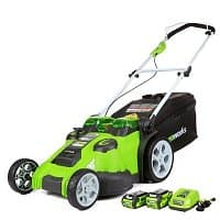 Amazon Deal: Gold Box Deal of the Day: Up to 30% Off GreenWorks G-MAX 40-Volt Powered Lawn Mowers
