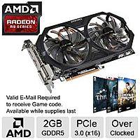 TigerDirect Deal: Video Cards: Sapphire Dual-X Radeon R9 280 Card + 3 AMD Gold Games for $189.99 AR (or $175 AR/AC), Gigabyte Radeon R9 270 Card + 2 AMD Silver Games for $139.99 AR (or $125 AR/AC)