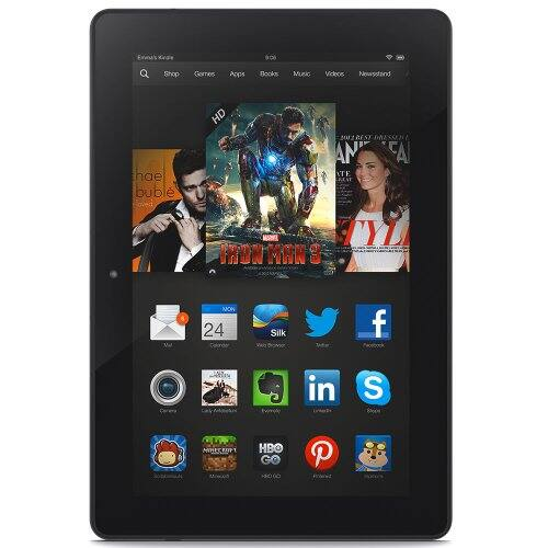 """Gold Box Deal of the Day: $140 Off the Amazon Kindle Fire HDX 8.9"""" WiFi Tablet (3rd Gen.): 32GB w/ Special Offers $259 + Free Shipping & More *Lowest*"""