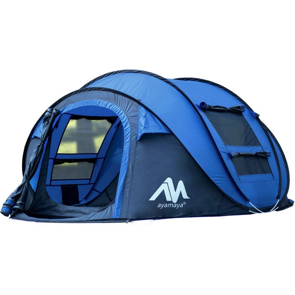 Get a 4 Person Outdoor Pop-up Tent for just $69.93 ! (30% OFF)