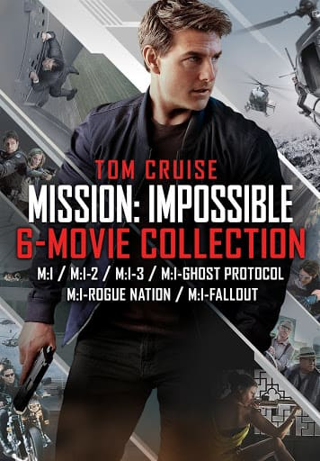 4K Mission: Impossible 6-Movie Collection - Movies on Google Play $33.99