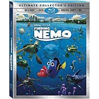 Disney Movie Club Deal: Finding Nemo (Five-Disc Ultimate Collector's Edition: Blu-ray 3D/Blu-ray/DVD + Digital Copy) set 1240/1550 Disney Movie Rewards points