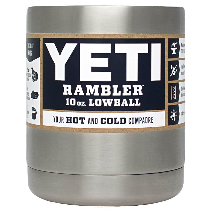 YETI Rambler 10 ounce Lowball: Buy 1 Get 1 Free @ Alabama Outdoors 2 for $24.99 with code