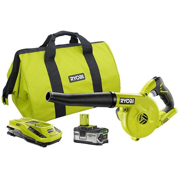 Ryobi ONE+ 160 MPH 18V Li-Ion Workshop Blower Kit w/ 4.0Ah Lithium Plus Battery $69.99 Homedepot OR as low as ~$40 with Google Express/Amex