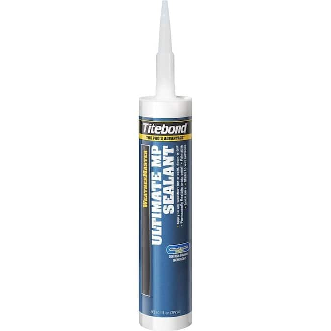 Titebond Weathermaster Brown Paintable Advanced Sealant Caulk - LOWES - YMMV $1.59