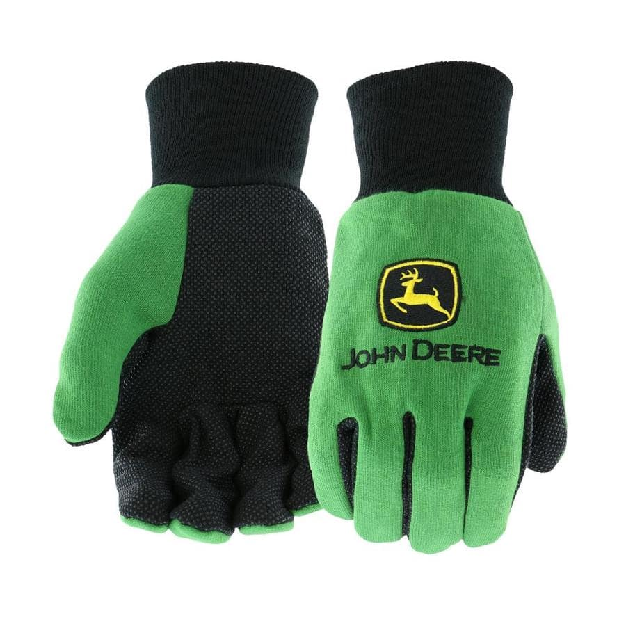 YMMV - Lowes - John Deere Mens Cotton Utility Gloves, Large - $0.60