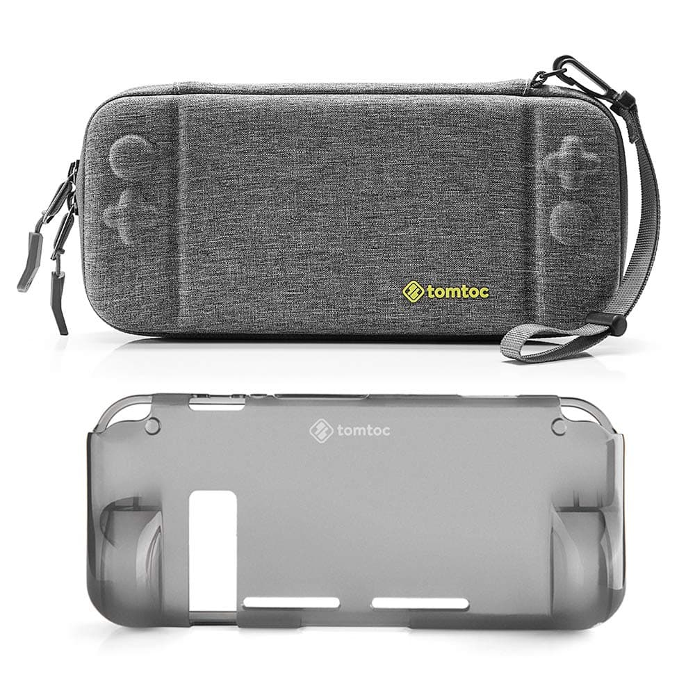 Hard Shell Case with Grip Back Cover for Nintendo Switch Console $15.59 @ Amazon