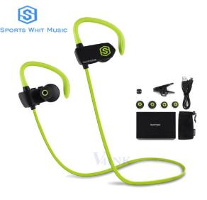 SmartOmni i10 Bluetooth 4.1 Wireless Sport Earphones With Built-In Mic $15.99