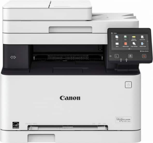 BEST BUY Canon - Color imageCLASS MF632Cdw Wireless Color All-In-One Printer $174.99