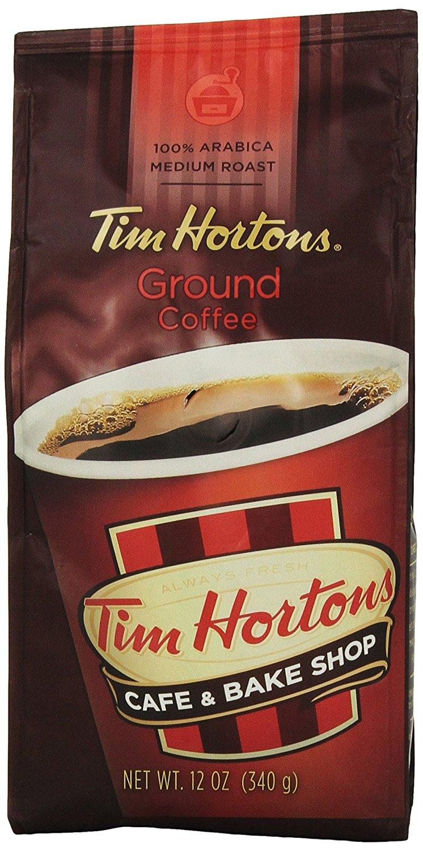 Tim Horton's 100% Arabica Medium Roast Original Blend Ground Coffee, 12 oz $4.19 via subscribe and save  @Amazon