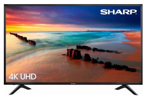 "BEST BUY: Sharp - 60"" Class (59.5"" Diag.) - LED - 2160p - Smart tv $499.99 shipped"