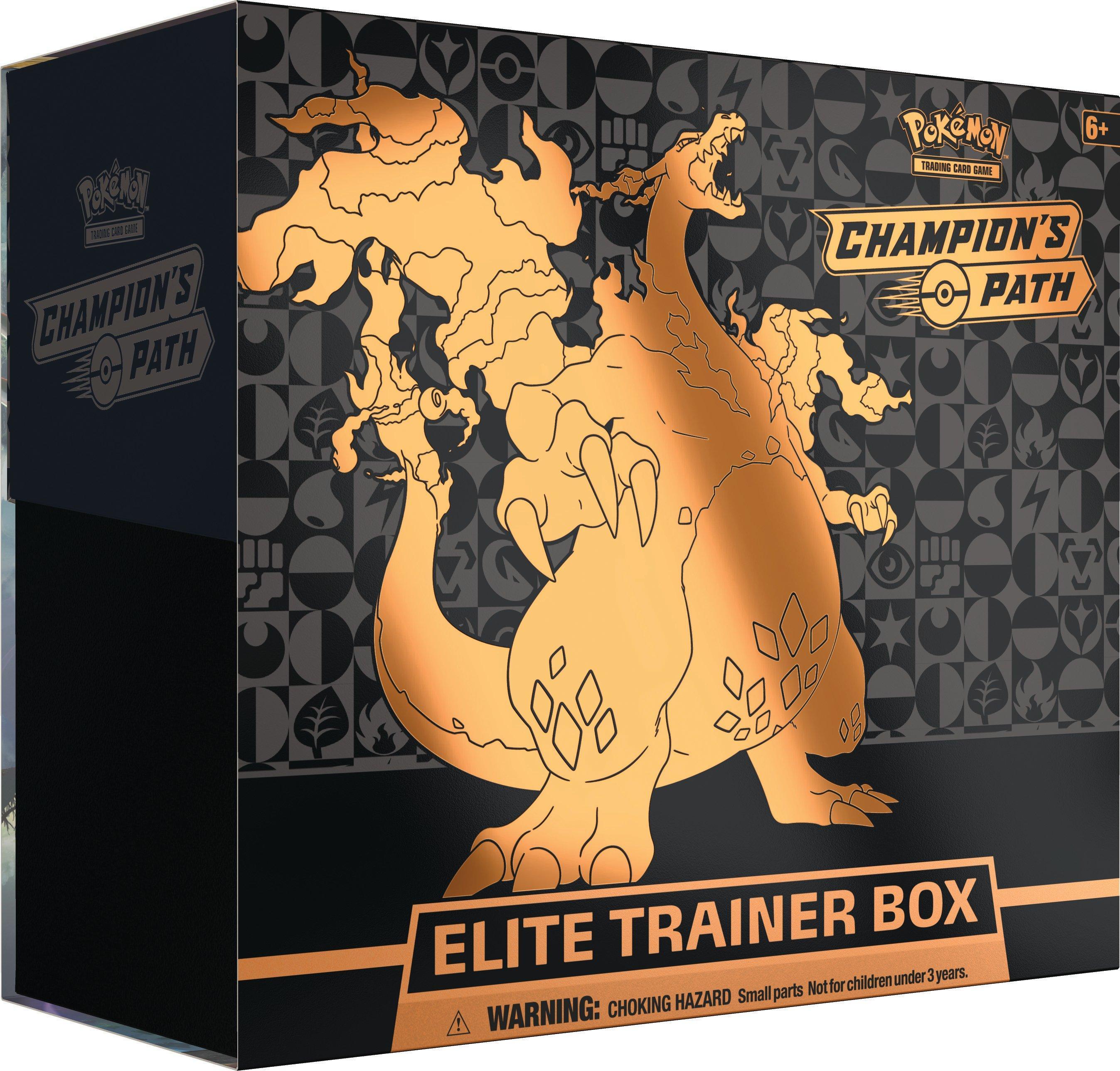 Pokemon Trading Card Game: Champion's Path Elite Trainer Box | GameStop  $49.99 IN STOCK DEC 31