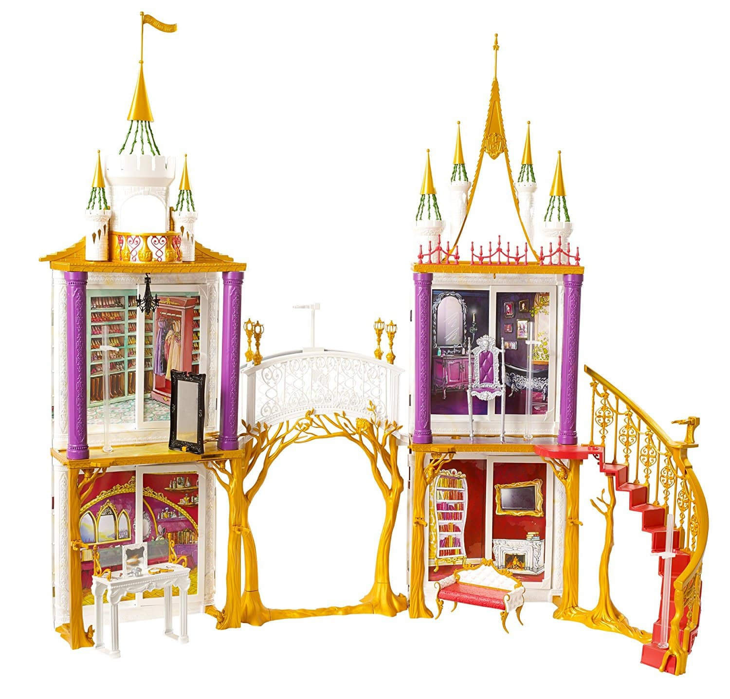 Ever After High 2-in-1 Castle Playset + FS