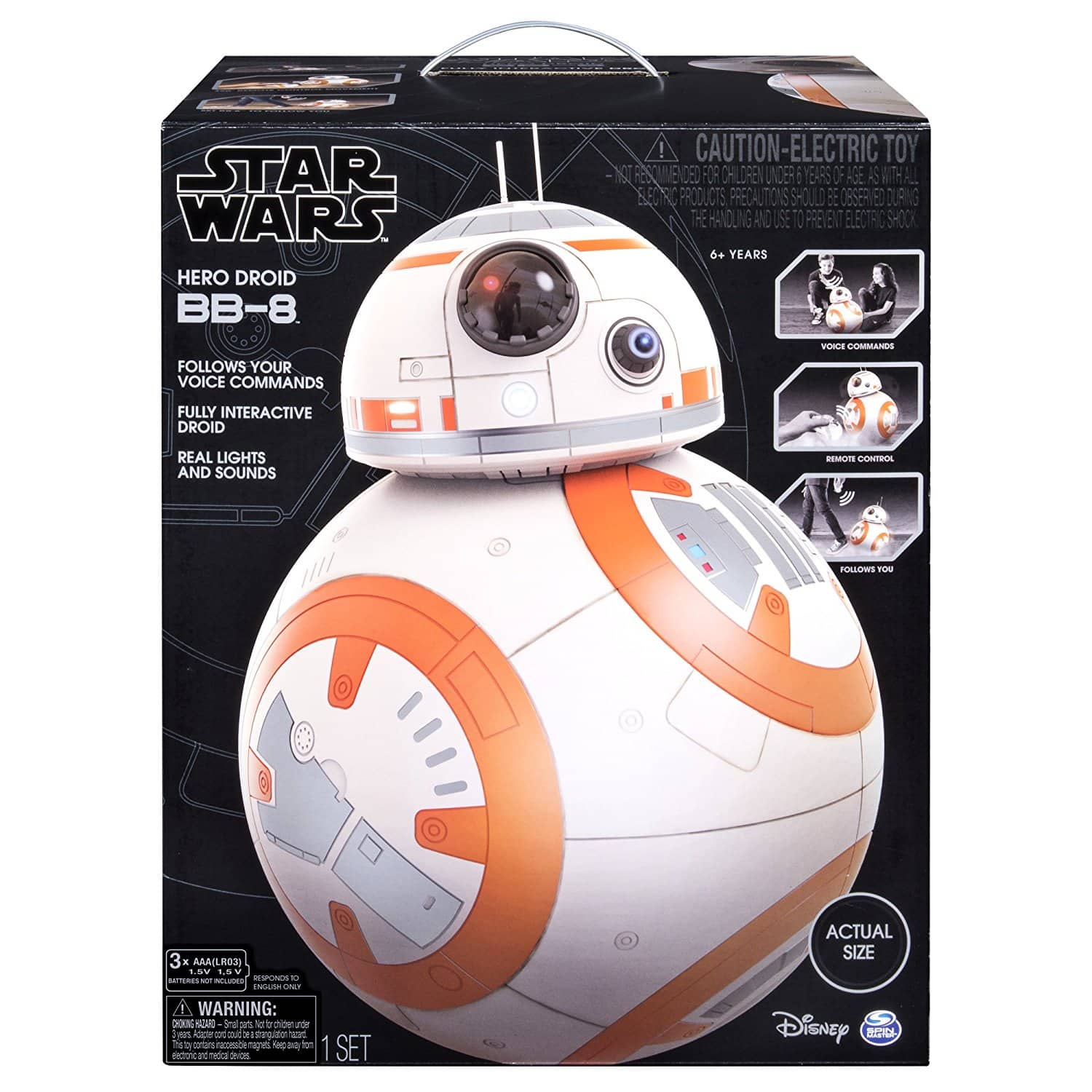 Star Wars - Hero Droid BB-8 - Fully Interactive Droid + FS $129