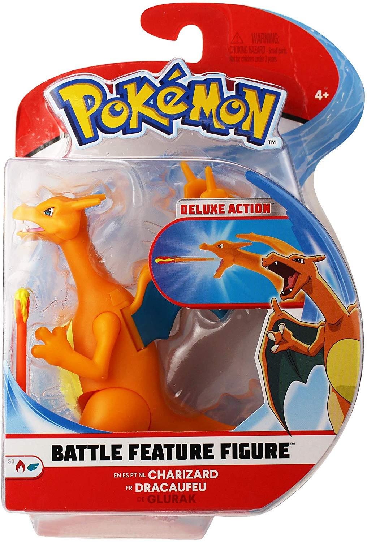 "PoKéMoN 4.5"" Battle Feature Figure - Charizard $5.42"
