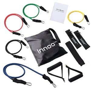 11 Pcs Resistance Bands for Fitness $13.99 FS w/Prime on Amazon