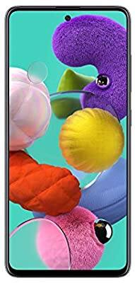 Samsung Galaxy A51 Factory Unlocked Cell Phone   128GB of Storage   Long Lasting Battery   Single SIM   GSM or CDMA Compatible   US Version $324.99