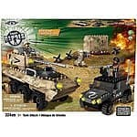 True Heroes Exclusive Mega Bloks Set Tank Attack: 324 pieces, $10.15 free Prime shipping
