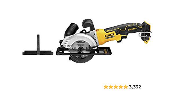 DEWALT ATOMIC 20V MAX Circular Saw, 4-1/2-Inch, Tool Only (DCS571B) - $99.22