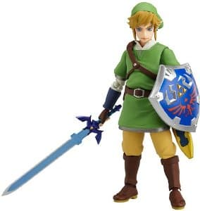 Good Smile Legend of Zelda: Skyward Sword Link Figma Figure $30 PRIME on Amazon