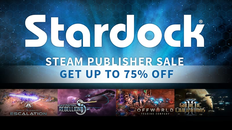 Stardock Steam Publisher Sale (Up to 75% off games and software)