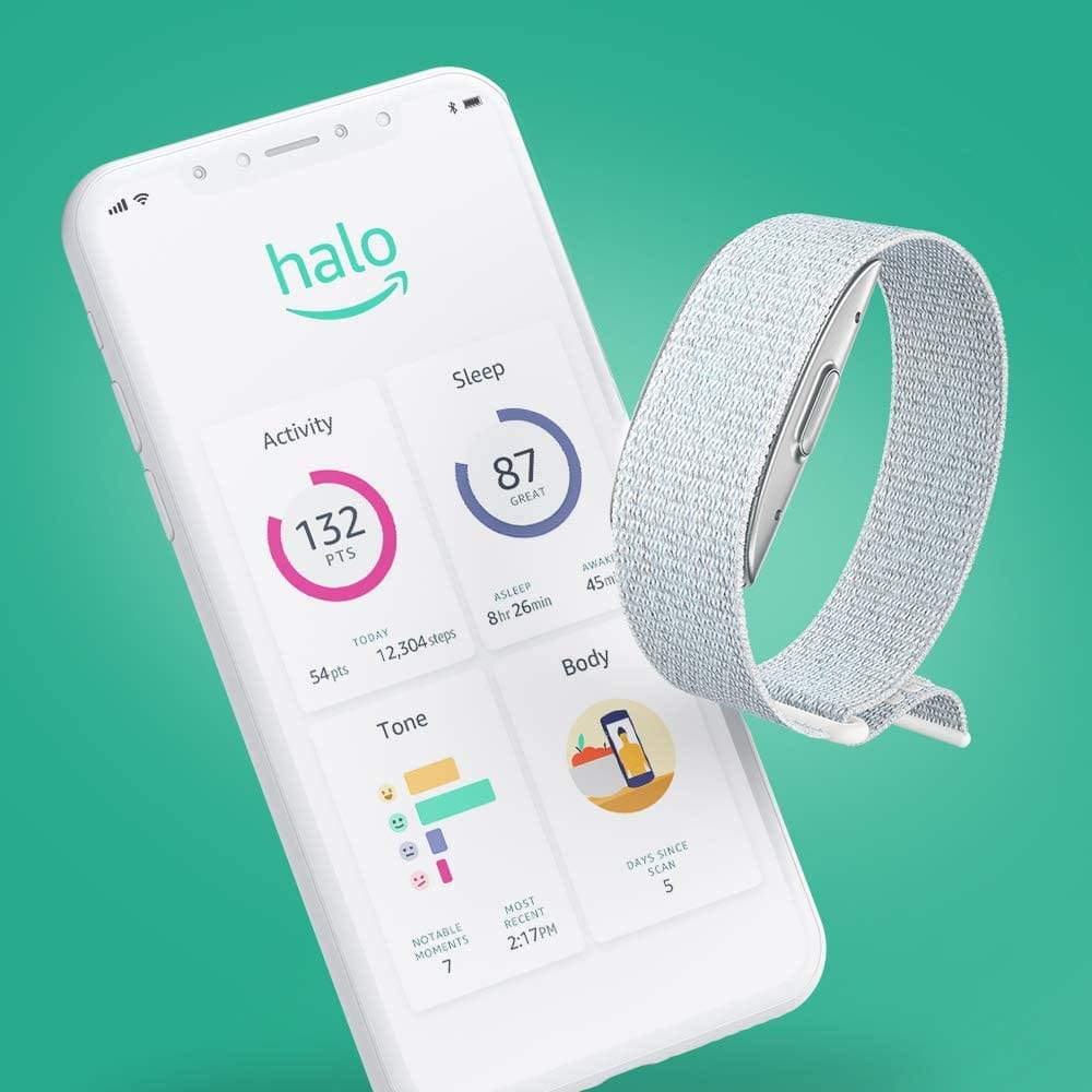 Amazon Halo - Health & wellness band and membership - Limited time price $64.99 (35% off)