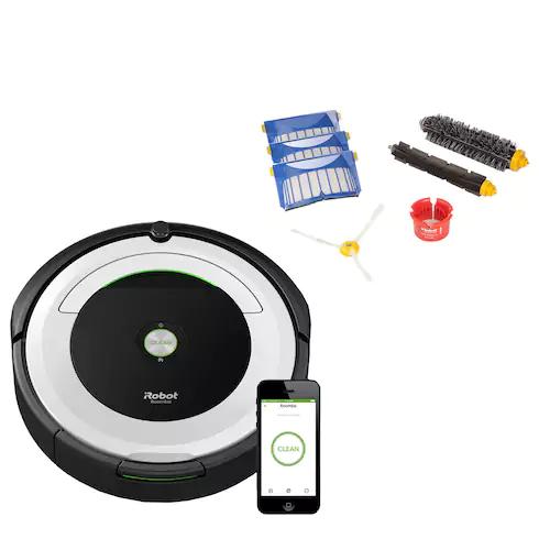 Roomba 695 Wi-Fi Connected Robotic Vacuum & Replenishment Kit $314 @ Kohl's plus $90 Kohl's Cash Online Only