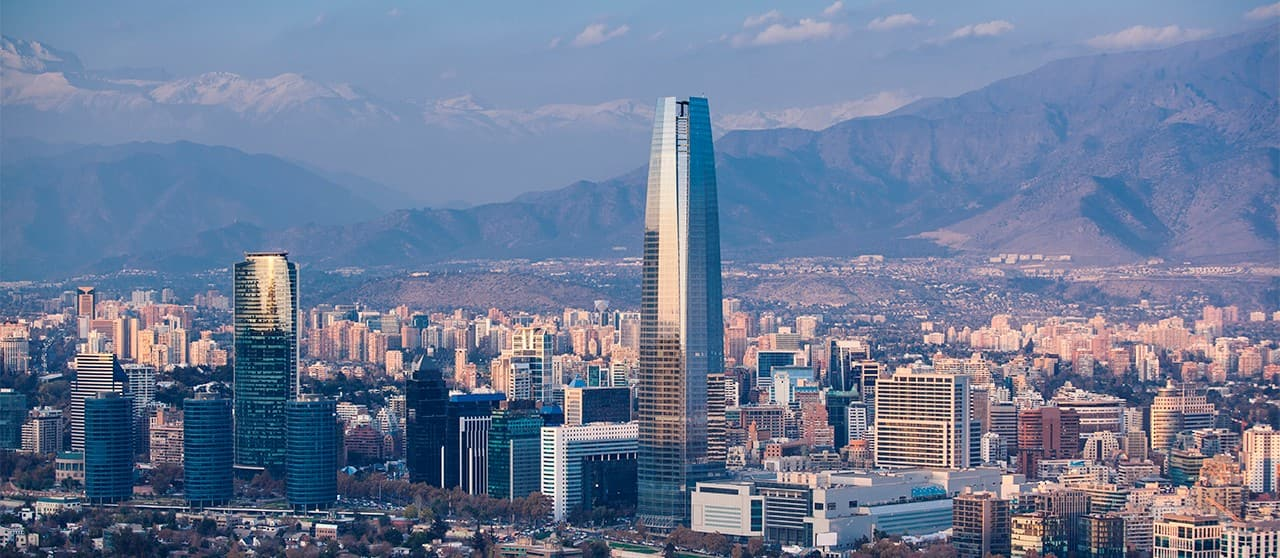Flight from San Francisco, CA to Santiago, Chile for $250 - $350 on Aero Mexico