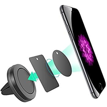 Magnetic Phone mount -Air vent, $2.99, Amazon, FS w/Prime,