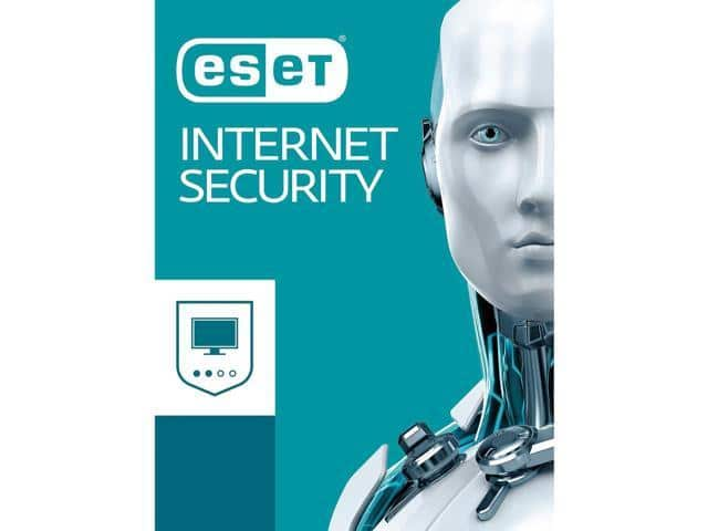 ESET Internet Security 2018, 5 devices, 1 yr, $30 AC, NewEgg, FS